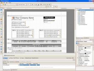 Modify reports using the Report Designer